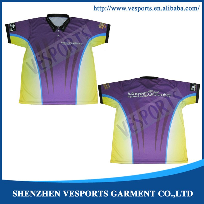 Custom Sublimation Polo Shirts For Wholesale
