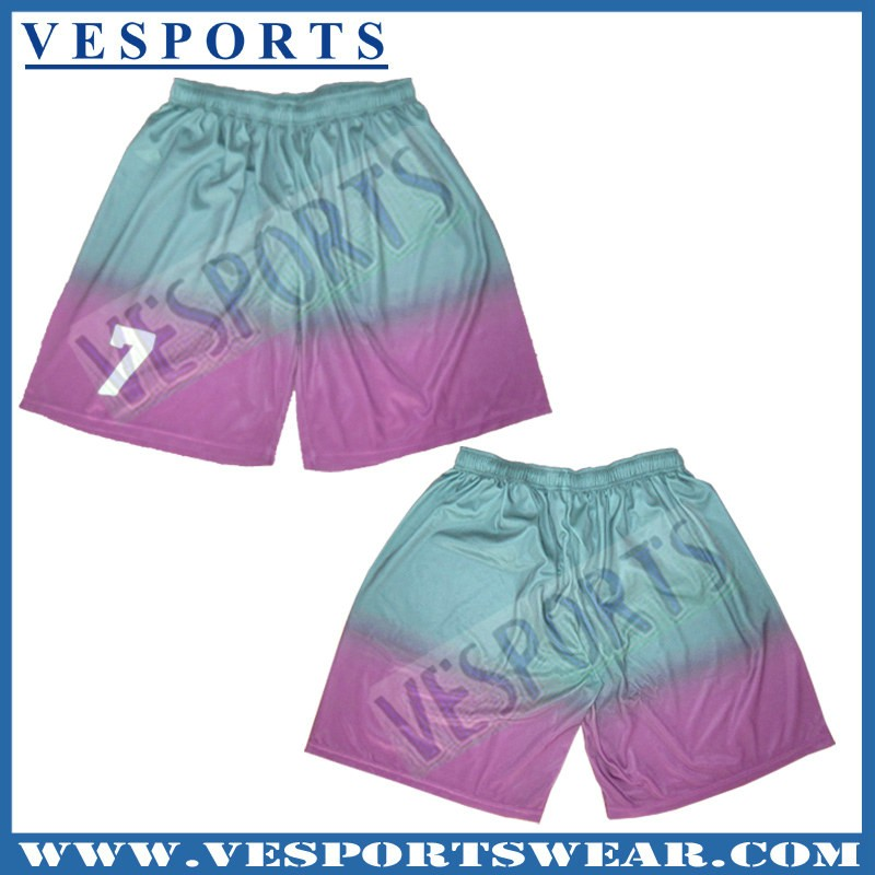 Custom college basketball shorts