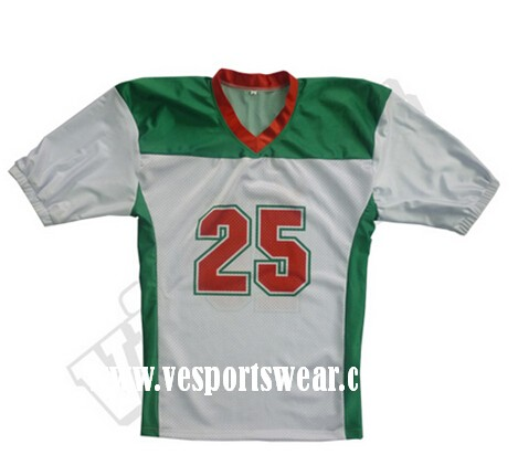 new design American football jersey