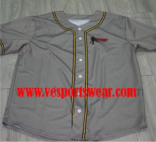 2015 high quality baseball jersey