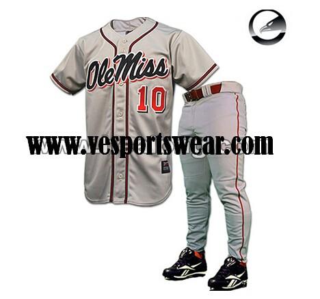 Fully sublimation baseball shirts