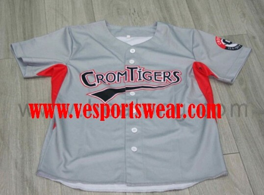 New custom mens baseball jersey