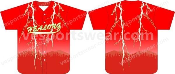 Popular sublimation baseball jerseys