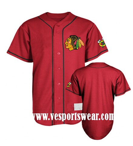 new red baseball teamwear