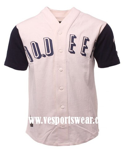 new white and black baseball teamwear