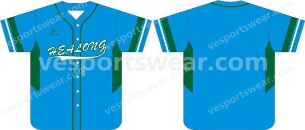 polyester mens fashion baseball jersey