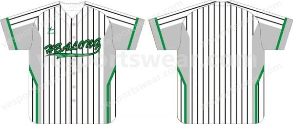 printed baseballs jersey