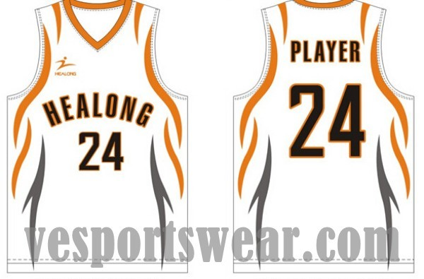 100% polyester basketball jersey