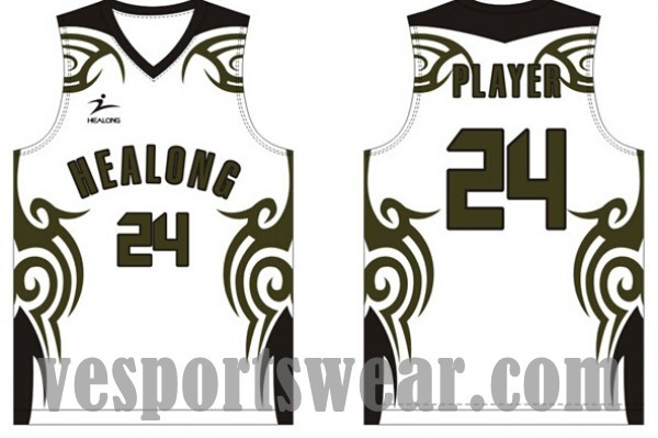 34d068596 Basketball jersey with logo design