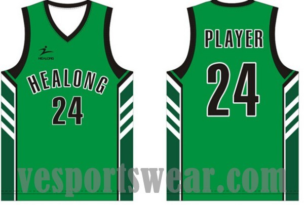 Basketball jerseys reversible sublimation custom