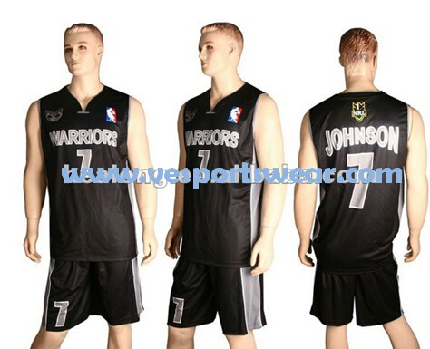 Blue basketball uniforms
