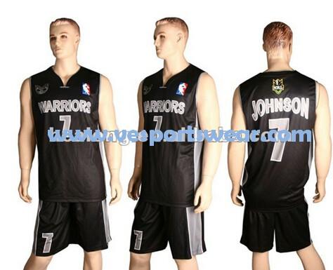 Blue basketball uniforms