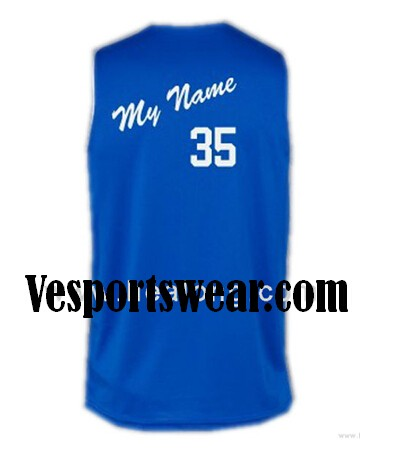 Breathable dry fit fabric cool basketball jerseys