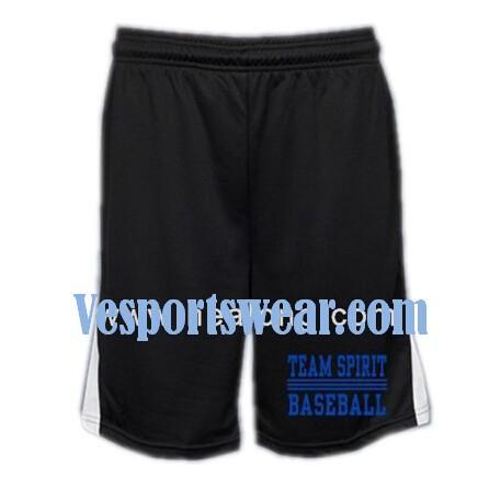 Breathable sublimation basketball shorts