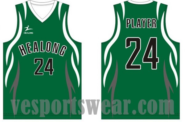 College basketball uniforms
