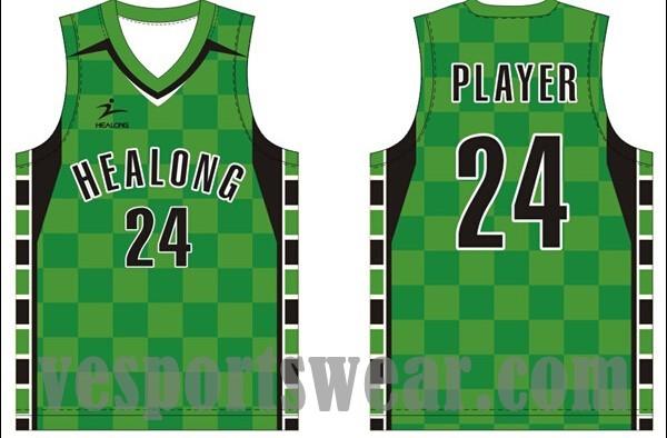 Custom sublimation cool basketball jersey