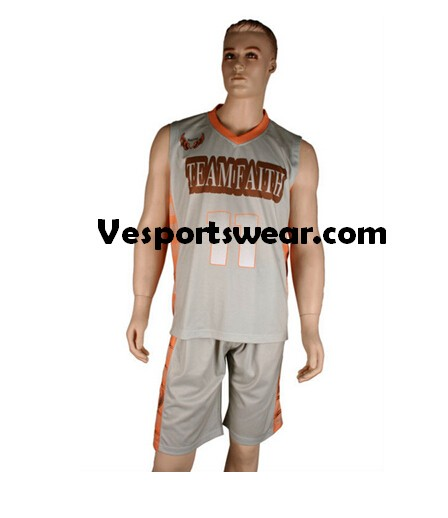 Reversible basketball jersey