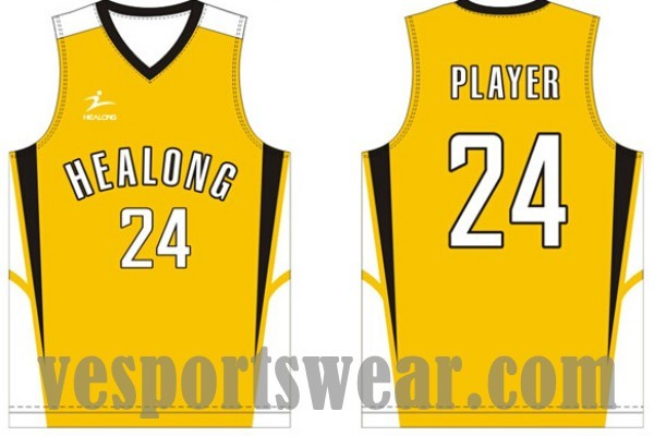 School basketball uniforms