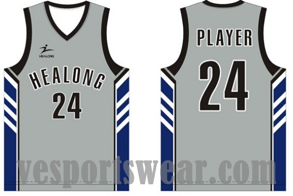 Sublimated basketball uniform good material