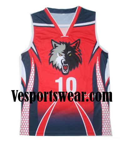 custom-made quick dry basketball uniform