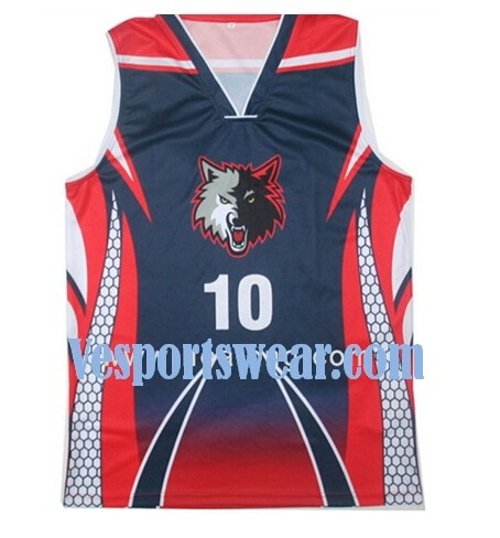 good price breathable blank basketball jersey