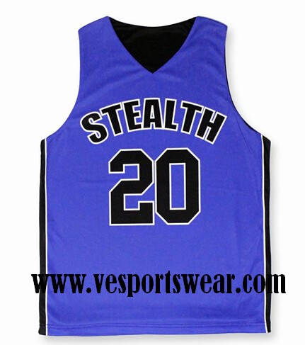 new sublimated baseketball jersey