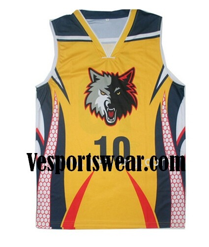 new sublimation basketball jersey design