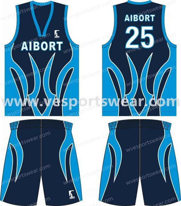 Cool Dry Term Sublimation Custom Basketball Jersey