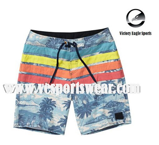 rainbow mens custom board shorts