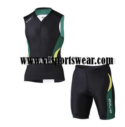 mens black short sleeve cycling sets