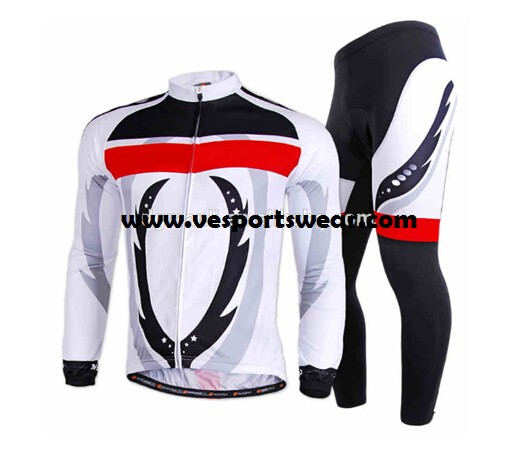 mens long sleeve cycling sets