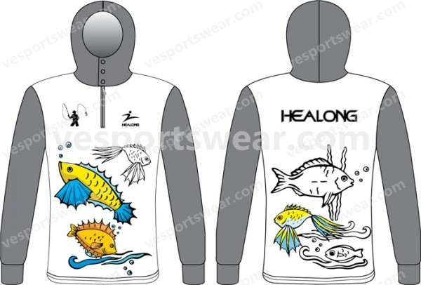 custom design tournament fishing jerseys
