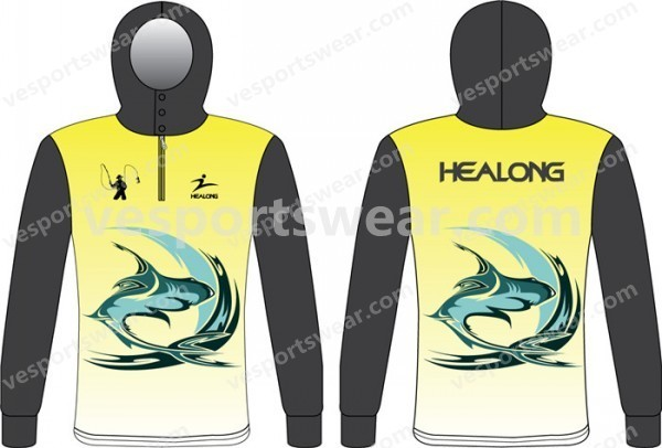 sublimated tournament fishing jerseys wholesale
