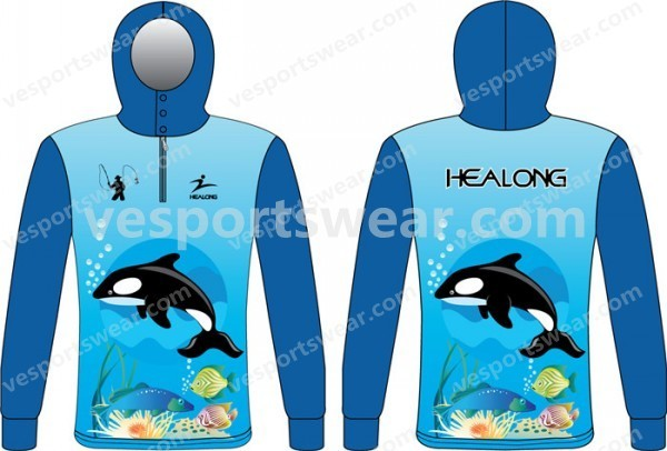 wholesale custom fishing jersey