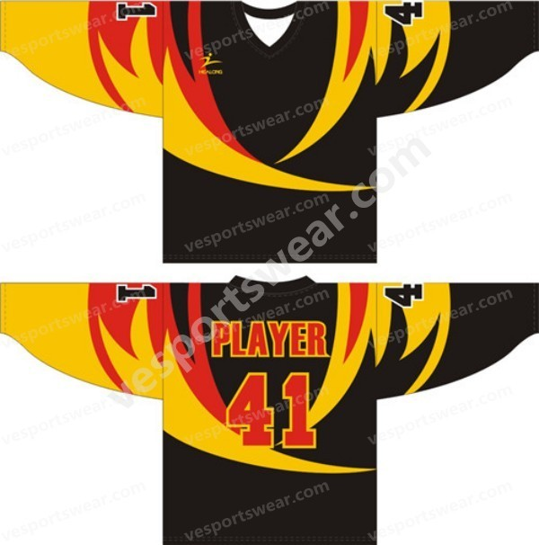 2014 custom sublimation ice hockey jersey