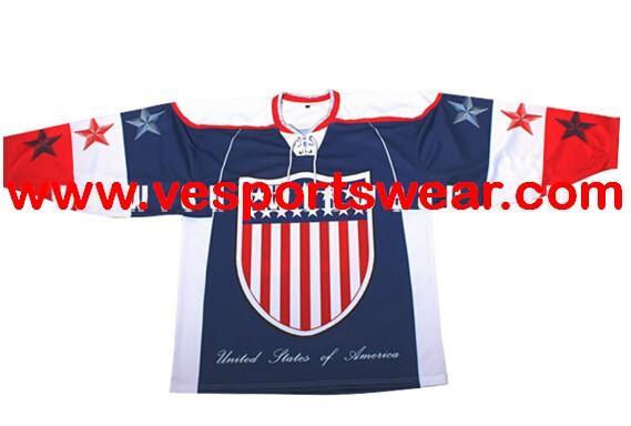 2014 custom sublimation pullover ice hockey wear