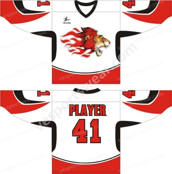 2014 digital printed ice hockey jerseys