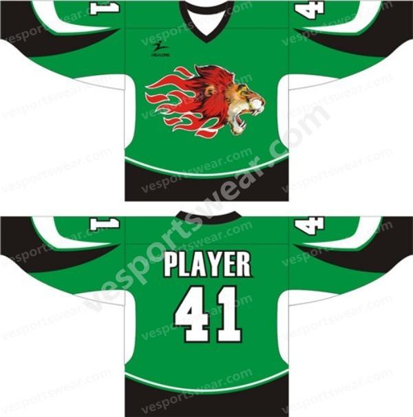 2014 digital printed ice hockey jerseys