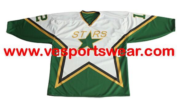 2014 latest free design polyeste ice hockey jersey