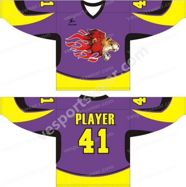 Custom championship ice hockey jerseys