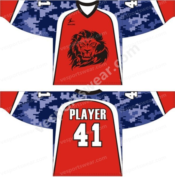 Customise hockey uniform for team