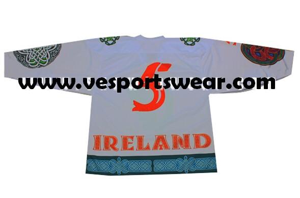 Customized hockey jersey for goalie