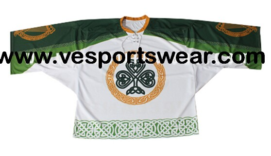 Digital printed ice hockey jersey oem service