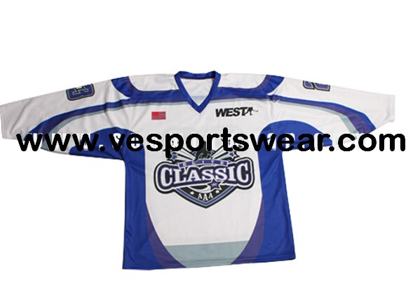 Digital printing ice hockey jersey with original