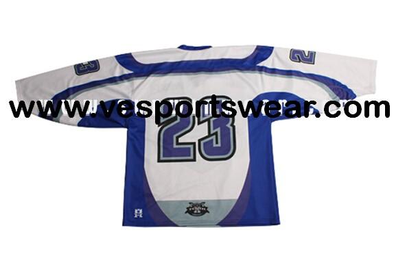 Digital printing ice hockey jersey with original