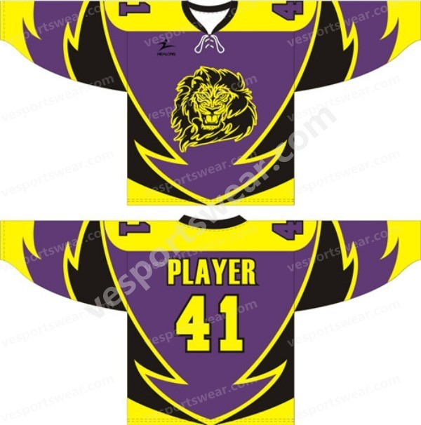 New designing sublimation ice hockey jerseys