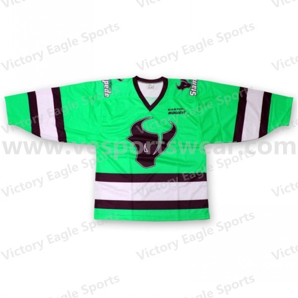 cheap new design custom made ice hockey jerseys