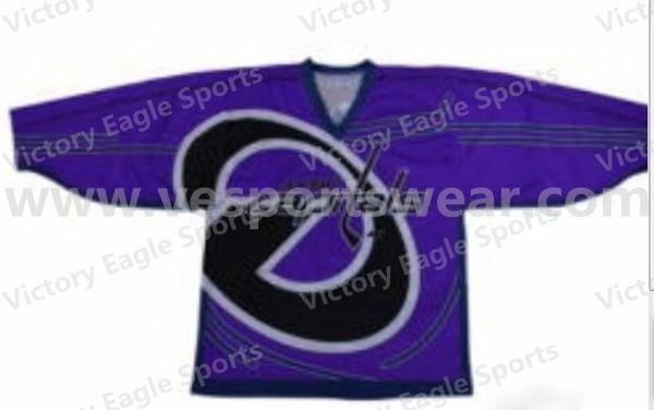 club team digitally sublimated ice hockey jersey