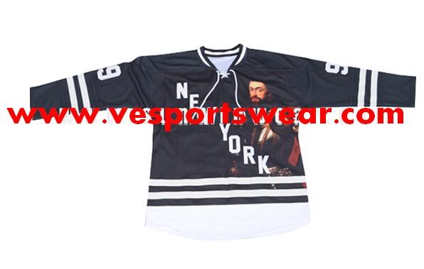 custom design european size hockey jerseys