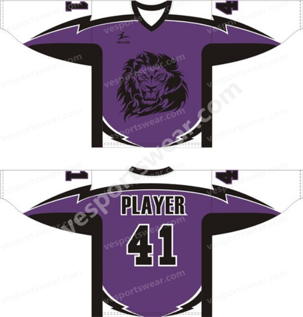 european hockey sport jersey
